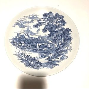 """Set of 4 Enoch Countryside Wedgewood 10"""" plates"""